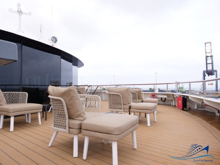World Voyager Deck 7 Bow Terrace