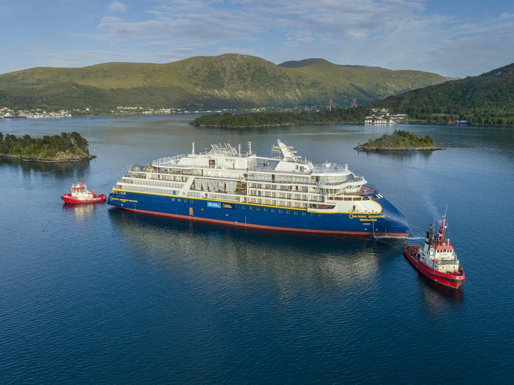 Lindblad presents the National Geographic Resolution