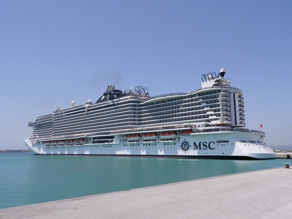 On board Msc Cruises: all about the Msc Seaside