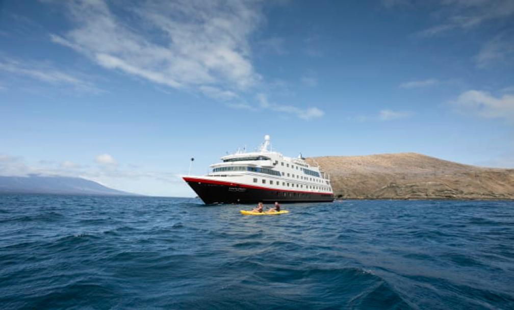 Os exclusivos cruzeiros da Hurtigruten nas Galápagos