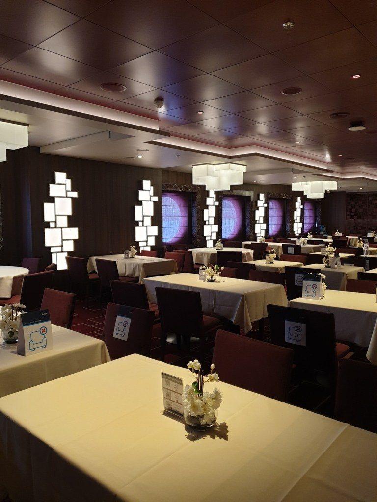 Msc Seashore 5th Avenue Restaurant