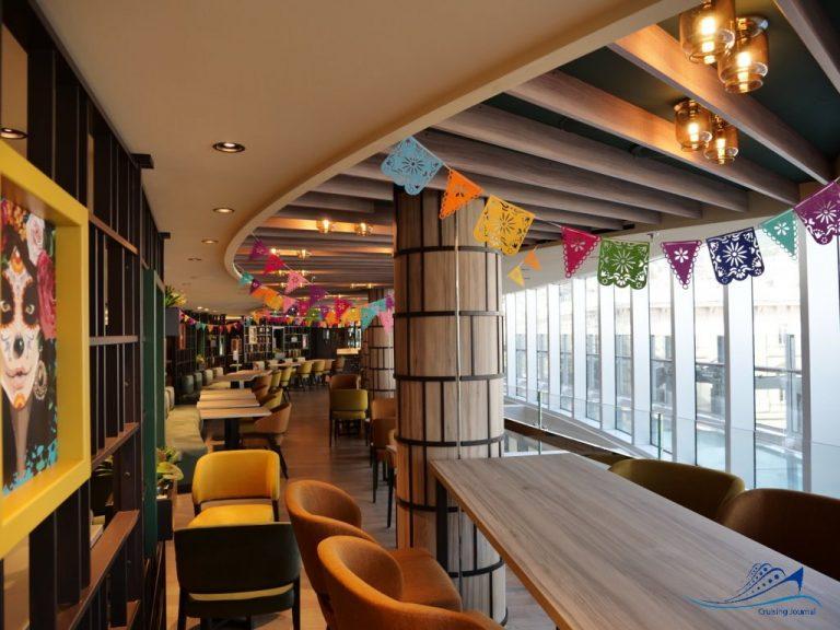 Msc Seashore Hola Tapas Bar y Cantina