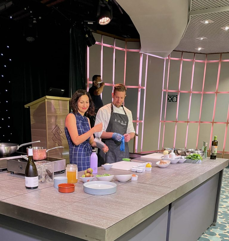 SALT Talk Yasmin and Chef Cyril