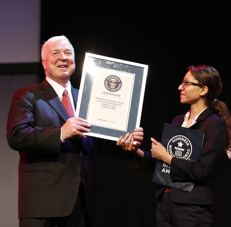 Torstein Hagen and Guiness World Book Record