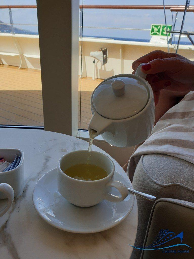 World Voyager Observation Lounge Afternoon Tea