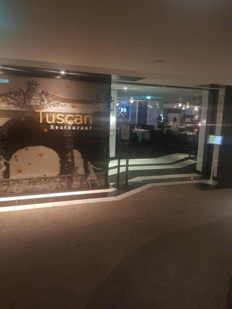Celebrity Apex Restaurant Tuscan
