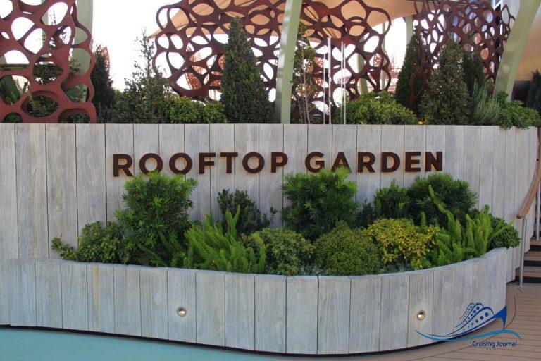 Celebrity Apex Rooftop Garden