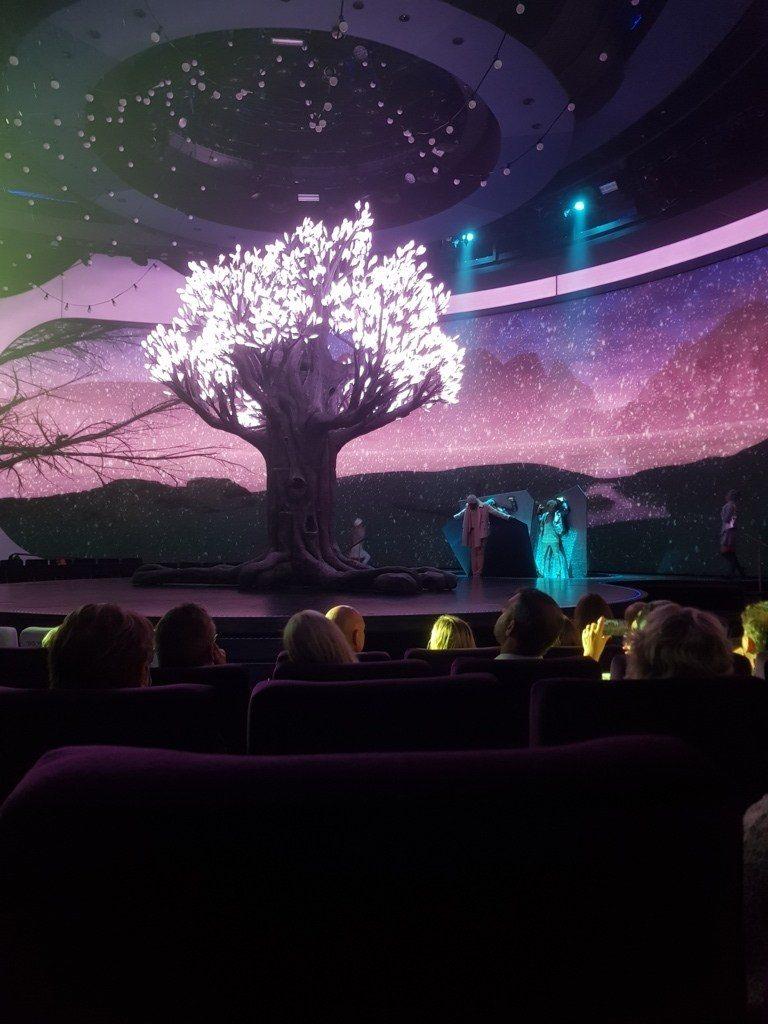 Celebrity Apex The Theatre