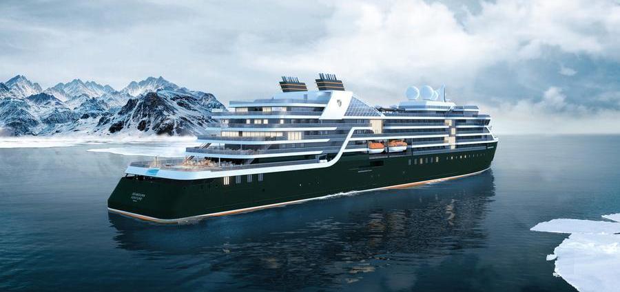 Seabourn Venture: viagem inaugural em Abril