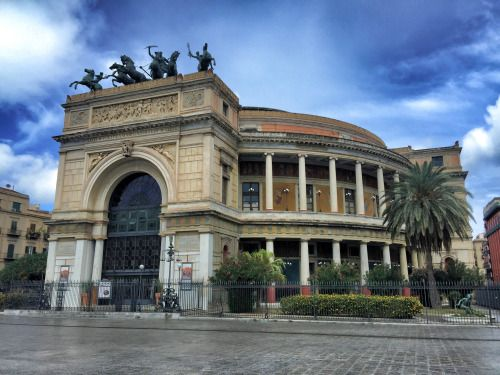 Palermo- Theater Politeama Garibaldi