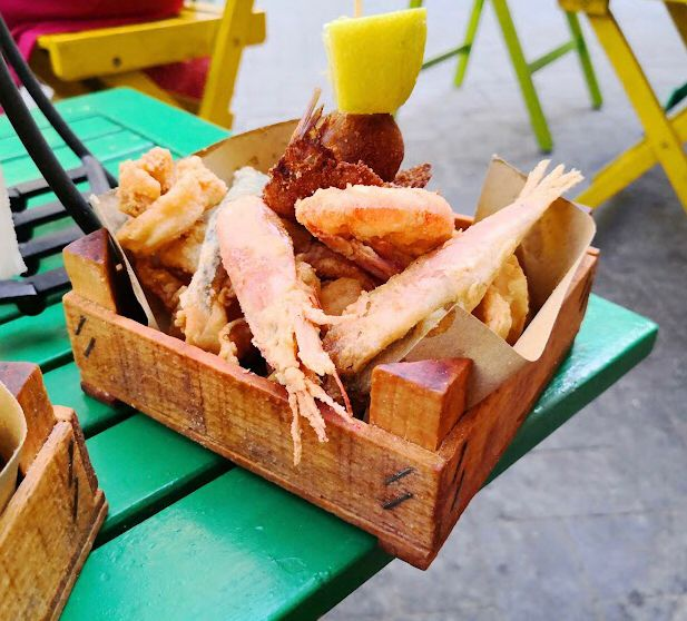 Mixed fried food - Syracuse
