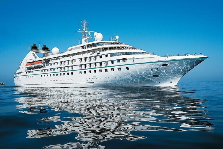 Star Legend de Windstar Cruises fait ses débuts au Portugal