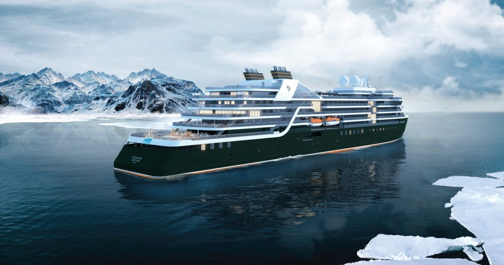 The launch of Seabourn Venture and its first itineraries